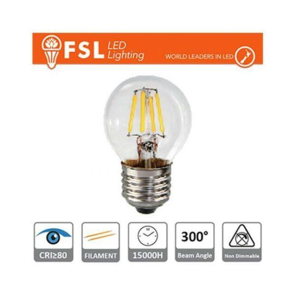 Lampade Bulbi Filamento Clear FSL